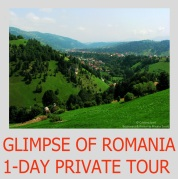 Glimpse of Romania 1-day private tour