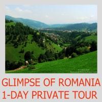 Glimpse of Romania 1-day private tour