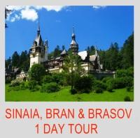 SINAIA, BRAN & BRASOV 1 DAY TOUR