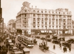 Athenee Palace Hotel in the 1920s,Bucharest