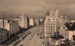 Bratianu Boulevard in the 1930s, Bucharest