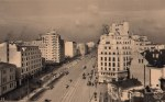 Bratianu Boulevard in the 1930s, Bucharest