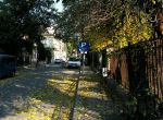 Leafy street, Armenian neighborhood, Bucharest