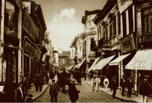 Lipscani street, Bucharest
