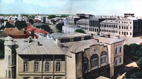 Sf Sava church, Bucharest 1864.