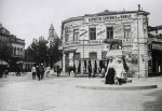 Former Roma Square and the She-Wolf statue, Bucharest 1910