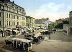 Old National Theater Square, Bucharest1895