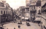 The old Roma Square at the end of Lipscani Street, Bucharest 1928