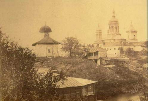 View to Radu Voda Monastery 18th century, Bucharest