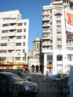 Sf Ioan Piata (St John-in-the-Market) Church, central Bucharest