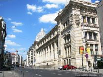 National History Museum Palace on Calea Victoriei, Bucharest