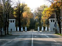 Cotroceni Palace main entry gates, Bucharest