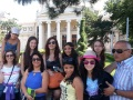 Group picture in front of the Romanian Athenaeum
