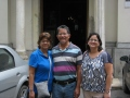 My first visitors from Trinidad & Tobago during Bucharest tour