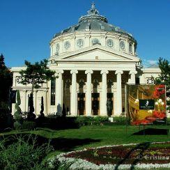 The Romanian Athenaeum, downtown Bucharest