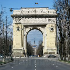 The Arc de Triomphe, Bucharest