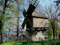 Windmill, the Village Museum, Bucharest