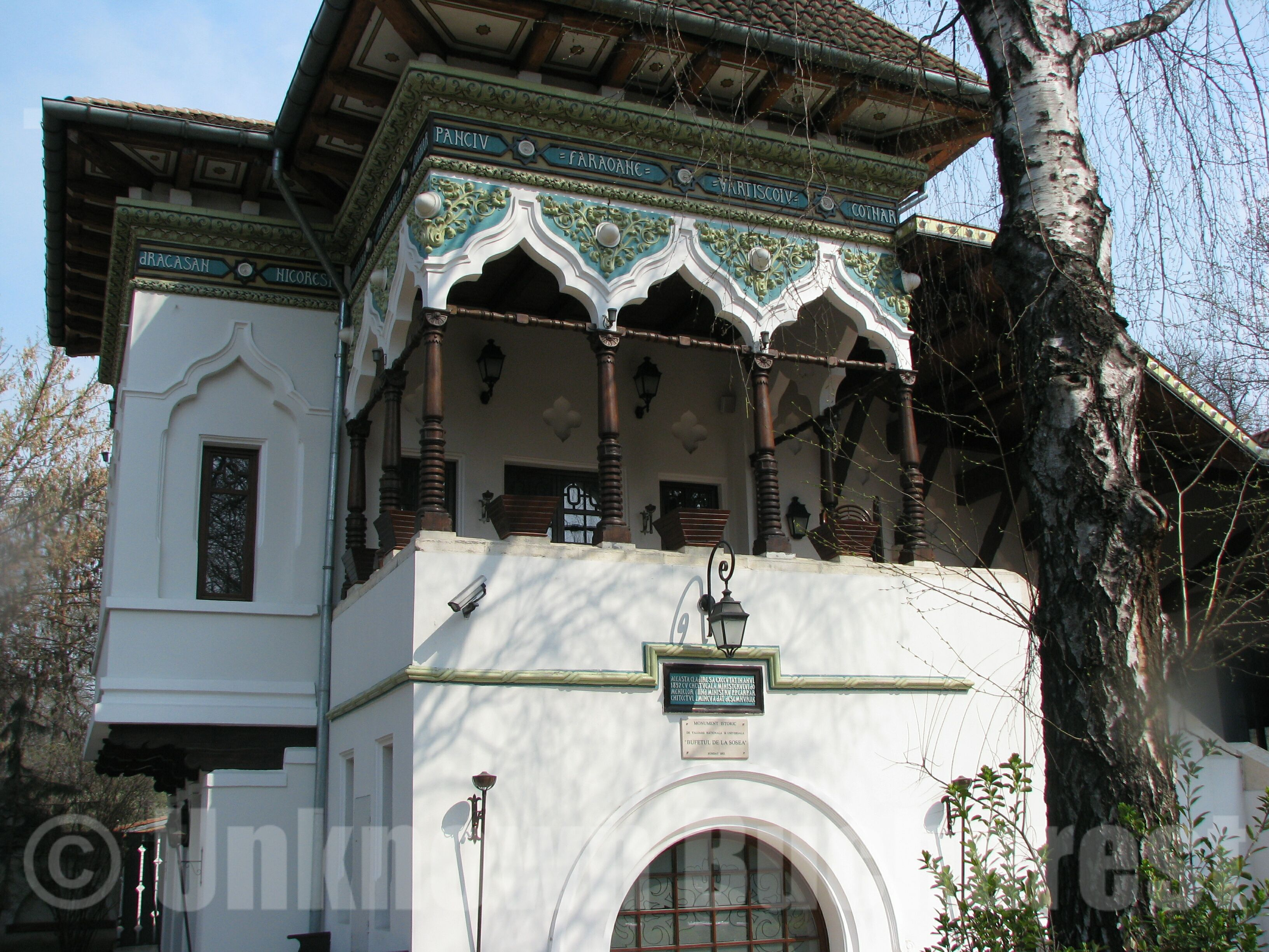 The romanian architect ion mincu the neo romanian style bucharest romania private tours by - Romanian peasant houses ...