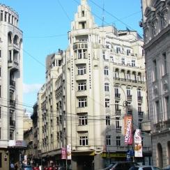 Art Deco architecture, central Bucharest