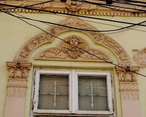 Window decoration, Bucharest
