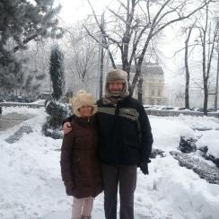 Winter Touring in Bucharest, Jan 2017