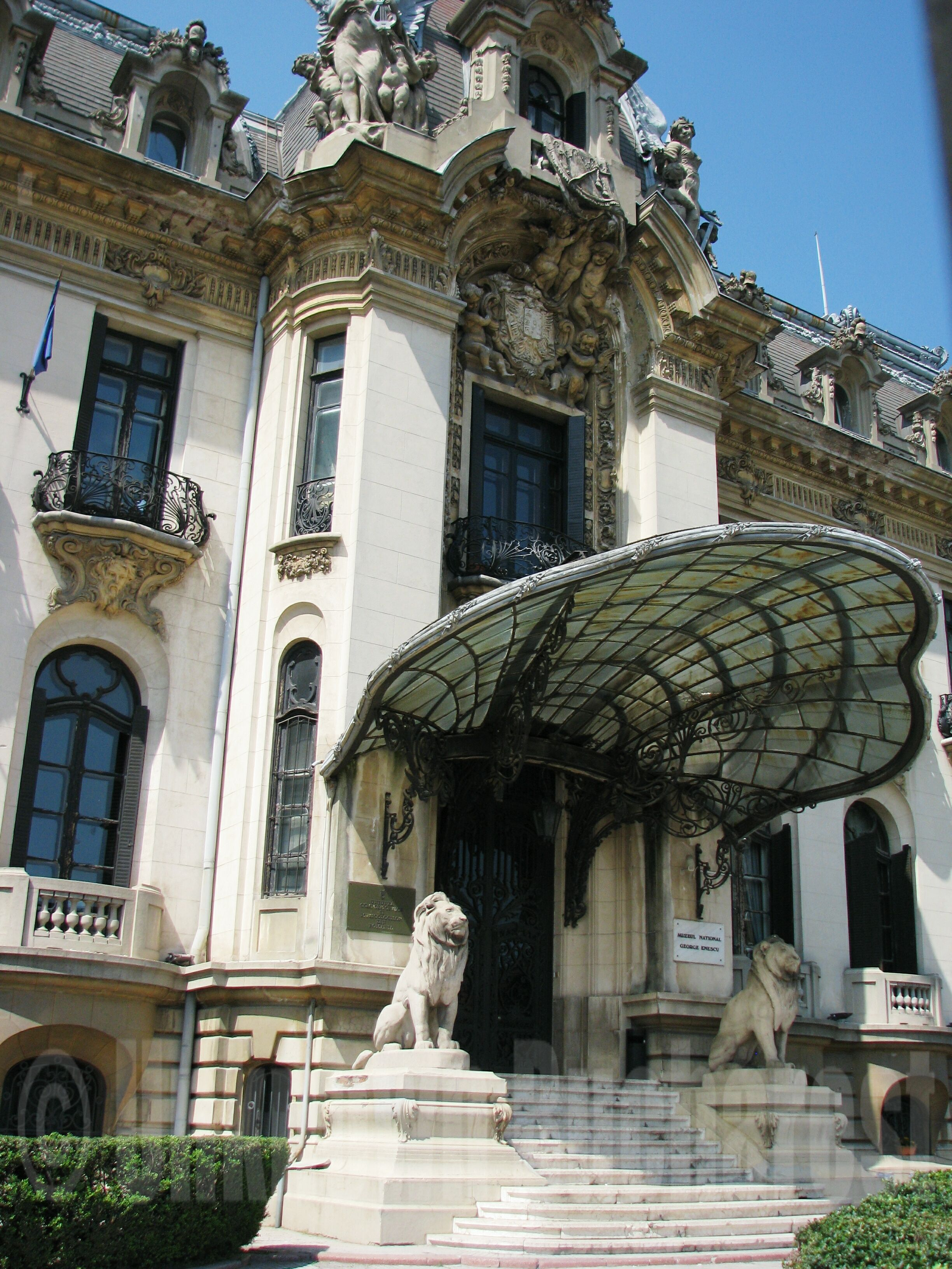 Cantacuzino Palace 1906 George Enescu National