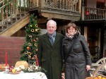 Visiting Manuc's Inn in Bucharest's Old Town during Christmaspreparations