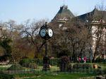Cismigiu Garden, Bucharest -view to the CityHall