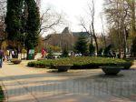 Cismigiu Garden, Bucharest, view to the CityHall