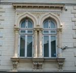 Early Neo-Romanian style windows,Bucharest