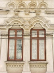 Early Neo-Romanian style windows Silvestru neighborhoodBucharest