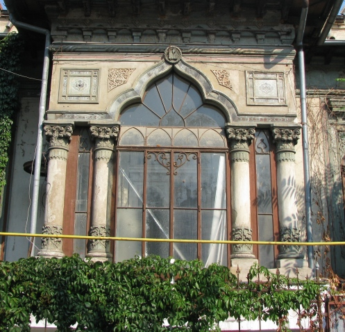 Early Neo-Romanian design by architect Ion I Socolescu, one of the fervent promoters of the national style in architecture