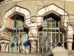 Neo-Romanian style house windows,Bucharest