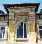 Early Neo-Romanian (national romantic) style house facade, Bucharest