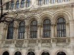 Façade of Ion Mincu University of Architecture,Bucharest