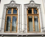 Mature Neo-Romanian style windows, Bucharest