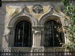 Neo-Romanian style windows, architect Ion Mincu, Bucharest
