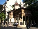 The 18th c. Stavropoleos Monastery, Bucharest's OldTown