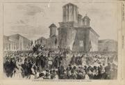 The Mitropoly of Bucharest, litography from 1866