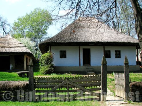 Peasant house, The Village museum, Bucharest