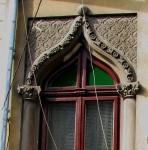 Early Neo-Romanian style house window, Bucharest, Armenianneighborhood