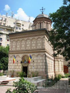 Historical Mihai Voda Church, Bucharest