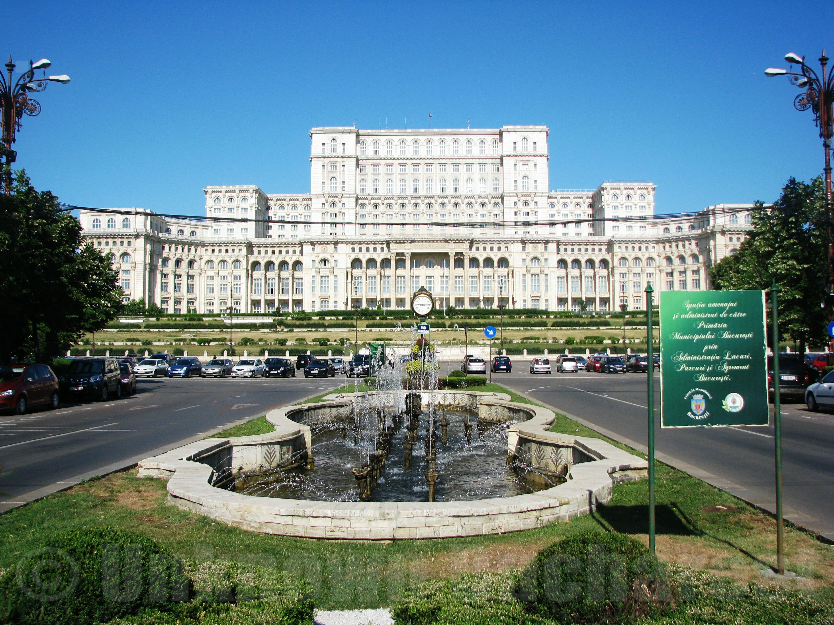 House Of The People Presently The Parliament Palace 1984 1990