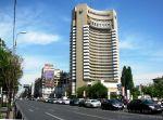 Bucharest's Intercontinental Hotel, symbolic edifice of the communist regime - downtown Bucharest
