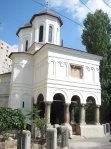 Sf Apostoli Church Bucharest, sideview
