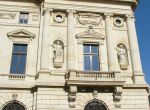 The National Bank Palace Bucharest, facade detail
