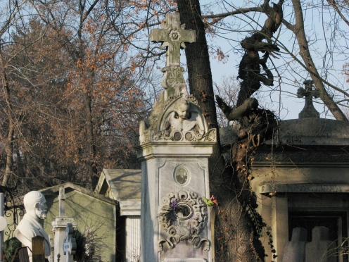 Funerary monument, Bellu Cemetery, Bucharest