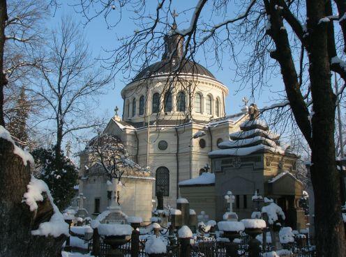 Bellu Cemetery's Great Chapel, Bucharest