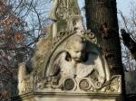 Funerary monument, Bellu Cemetery,Bucharest