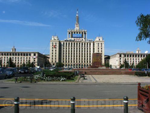 """Casa Scanteii (""""House of the Spark"""") Bucharest"""
